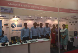 ENMACH - 2017 exhibition held at Trade Centre, Chennai in June2017.