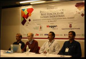 A Seminar on Energy Efficiency was held at Ahmedabad in May 2017