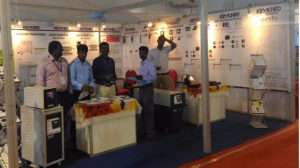 Knit Tech Exhibition held at Tirupur in Feb 2017