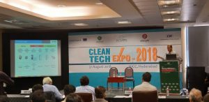 Clean Tech Expo - 2018 exhibition was held at SOHRABJI GODREG GREEN BUSINESS CENTRE, Hyderabad in August 2018